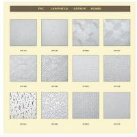 China Vinyl Faced Gypsum Ceiling Tile Pvc Laminated Gypsum Board-1 on sale