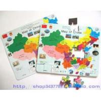 Quality Magnetic Toys Magnetic Map Puzzle for sale