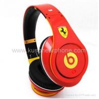 Quality Limited Edition Ferrari Monsterly Beats By Dr Dre Studio Headphones for sale