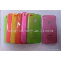 Buy cheap For iPhone apple iphone 4 plastic hard case cover from wholesalers