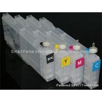 China Chips/Resetter Brother long refillable ink cartridge for sale