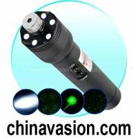 Quality Ultra Power 200mW Green Laser Pointer + LED Torch Light for sale