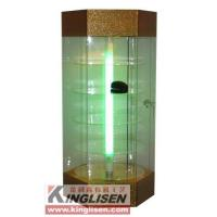 Quality Six side cabinet Model: KS-7205(Gold cloth green light) for sale