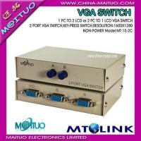 Quality VGA Video Switch & Splitter MT-15-2C for sale