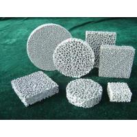 Quality Ceramic foam filter for sale