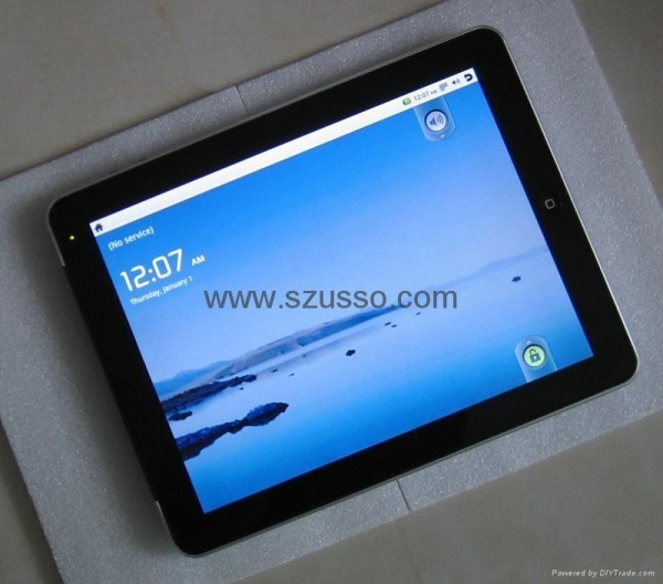 Buy Awesome! 1:1 Copy 9.7Tablet PC Android 2.2 Freescale Cortex A8 800MHz at wholesale prices