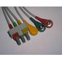 China HP ECG Cable with 3 Leads on sale