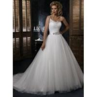 Quality Ivory Tulle Wedding dress Beads for sale