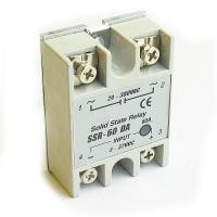 Buy cheap 60A 3-32V SSR Solid State Relay CNC from wholesalers