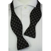 Quality Self-Tie Horseshoes Black Bow Tie for sale