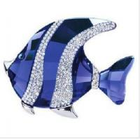 Buy cheap Crystal blue fish USB Flash Drive from wholesalers