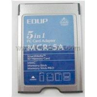 China PCMCIA five-in-one card reader WLAN wireless lan card PCMCIA interface on sale