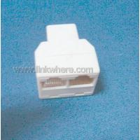 Quality 8P network three-channel adapter connector with long life time OEM for sale