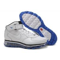 China Nike Air Force 1 High Tops Air Max 2009 White Black Blue on sale
