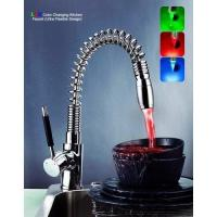 Quality Ultra Flexible LED Color Changing Faucet for sale