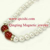 Buy cheap magnetic pearl necklace from wholesalers