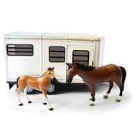 Britains Big Farm Horse Trailer with Horse and Foal for sale