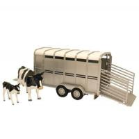 Britains Big Farm Cattle Trailer with Cows for sale