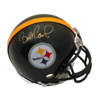 Quality Autographed Bill Cowher Pittsburgh Steelers Mini Helmet for sale