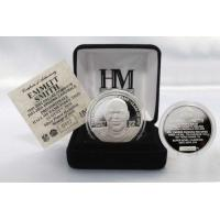 Quality Emmitt Smith 2010 HOF Induction Silver Coin for sale