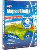 Quality Maps of India for sale