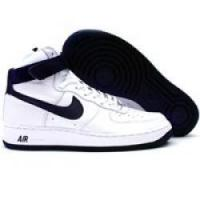 Buy cheap Nike Air Force 1 Hi 306351 141 white obsidian blue from wholesalers
