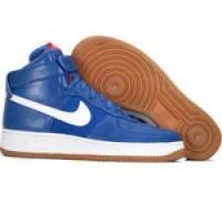 Quality Nike Air Force 1 High Premium Bobbito Edition 318431 441 varsity royal white sport red for sale