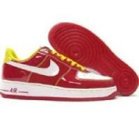 Quality Nike Air Force 1 Low Premium Hoop Pack Edition 313249 611 varsity red white varsity maize for sale