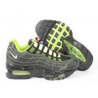 Buy cheap Men's Nike Air Max 95-Black/Prasinous from wholesalers