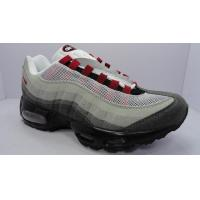 Buy cheap Men's Nike Air Max 95-Grey/White/Red from wholesalers