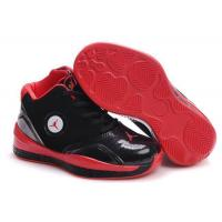 Buy cheap Kid's Air Jordan 2010 Shoes - black/red from wholesalers