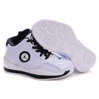 Buy cheap Kid's Air Jordan 2010 Shoes - white/black from wholesalers