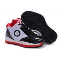 Buy cheap Kid's Air Jordan 2010 Shoes - white/black/red from wholesalers