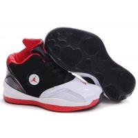 Buy cheap Kid's Air Jordan 2010 Shoes - black/white/red from wholesalers