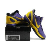 Quality nike kobe Bryant 6 series-purple/yellow for sale