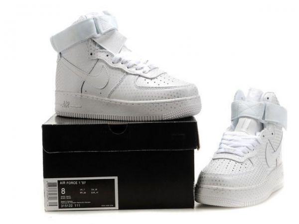Buy Nike air force one high women's Silver-Spot at wholesale prices