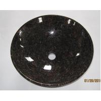 Stone Sinks Tan Brown Stone Sink for sale