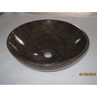 Stone Sinks Emperador Dark Sink for sale