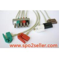 China ECG Cable & Leads HP ECG 5 lead wires on sale
