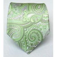 Quality 100% Silk Woven Apple Paisley Tie for sale