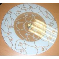 China Cake Stand & Turntable Tempered glass rotating turntable on sale