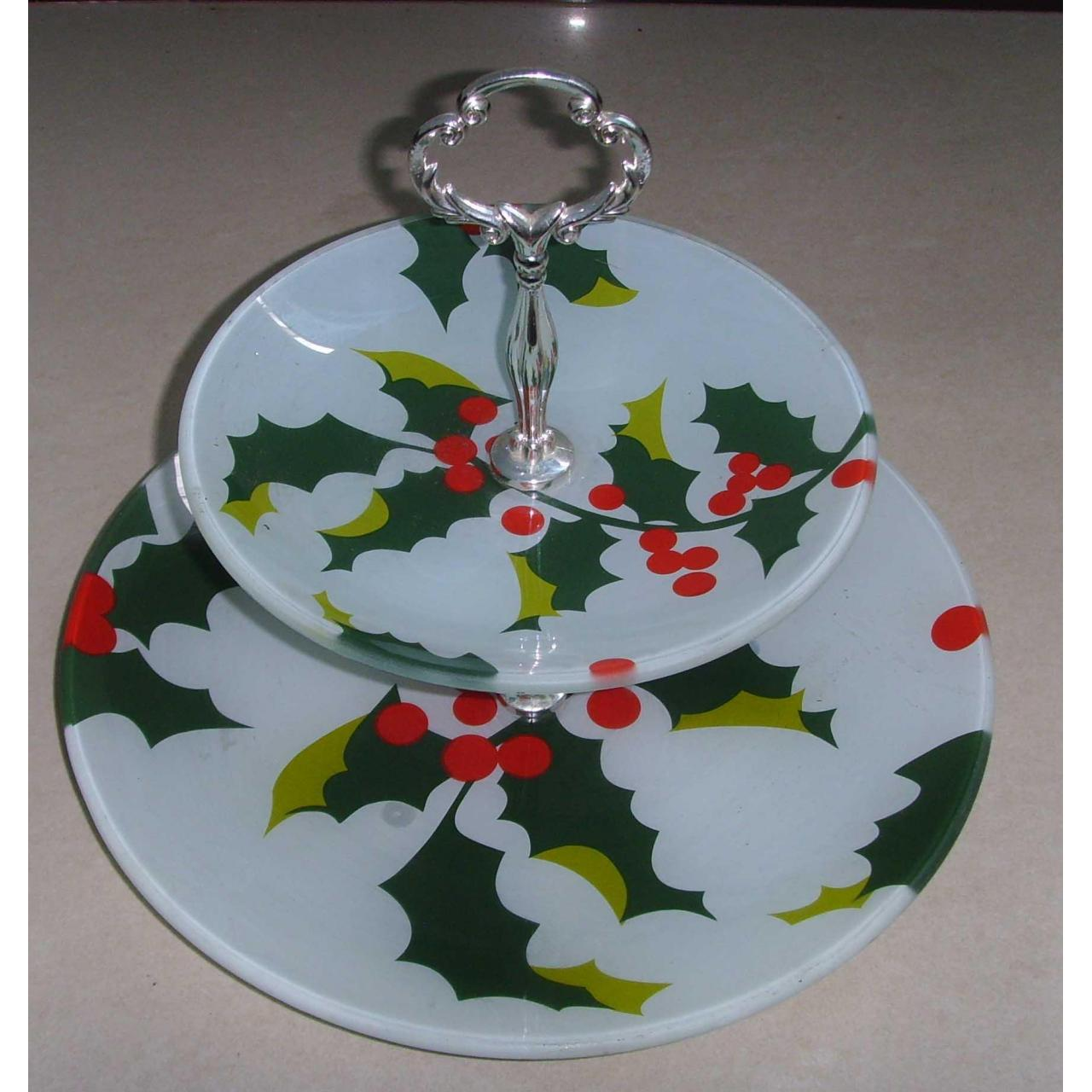 China Cake Stand & Turntable Glass cake showing stand on sale
