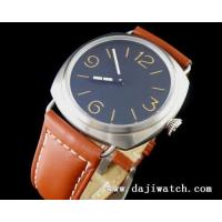 Quality 47mm Marina Militare 47mm Marina Militare brushed case Orange No. Mechanical Watch for sale