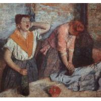 Quality Degas Reproduction ofWomen Ironing for sale