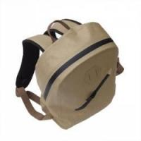 Quality Khaki waterproof travel backpack for sale