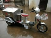 Pedal garbage electric tricycle ETG-P06