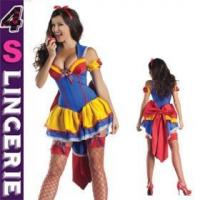 China Sexy Costume Sexy lovely and high quality christmas snow white fancy dress costume on sale