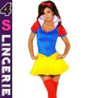 China Sexy Costume Newest hot sexy enchanting snow white princess fancy dress costume on sale