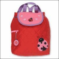 China Baby & Kids Gifts, Games & Plush Stephen Joseph Little Lady Ladybug Kids Quilted Backpack on sale