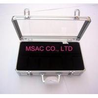 Quality Personalized Silver Aluminum Watch Case / Watch Boxes , Acrylic Watch Cases for sale